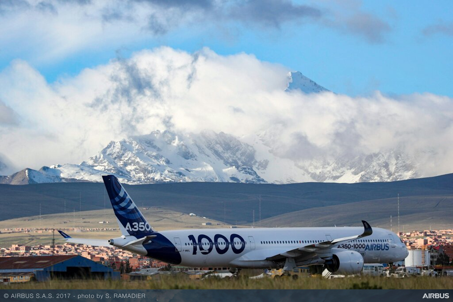 A350-1000 completes high and warm flight tests in Latin America