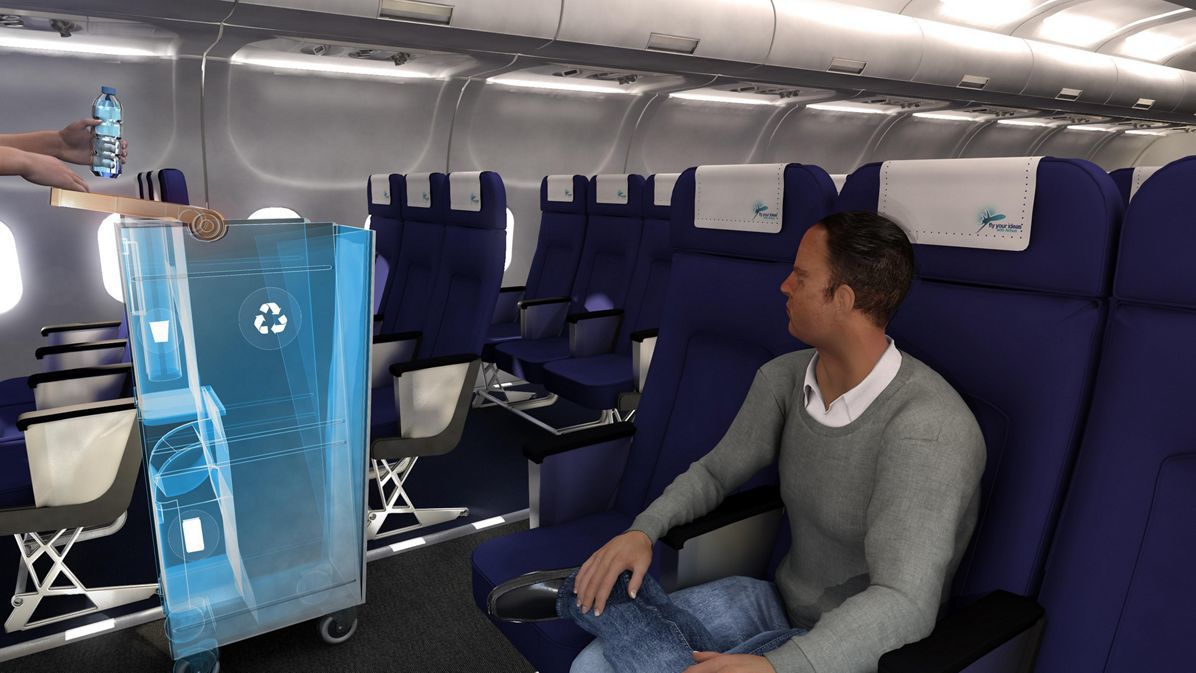 Brazilian student-designed 'Retrolley' project recognized at Aircraft Interiors Expo 2017